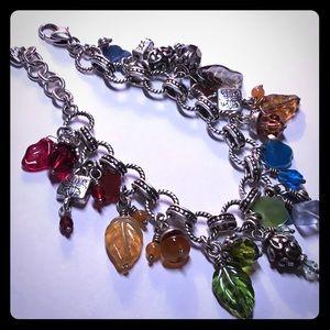 "Brighton ""Venetian Dreams"" charm bracelet"